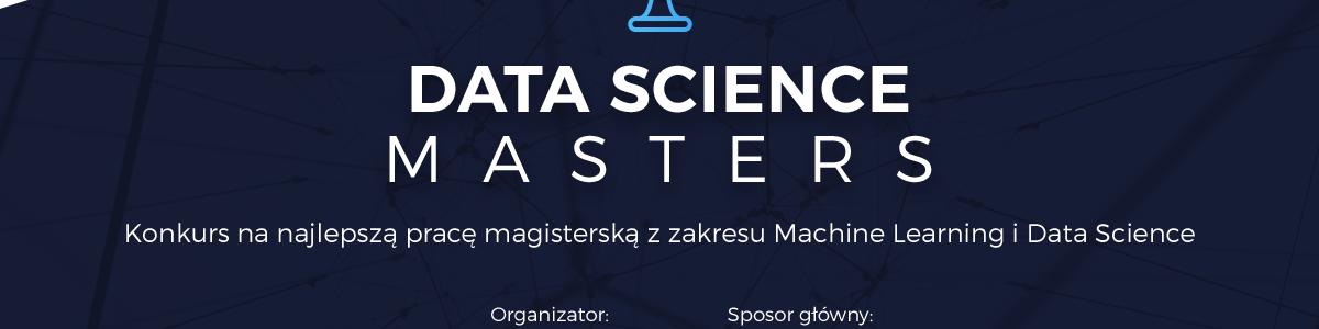 Data Science Masters – konkurs na najlepszą pracę magisterską