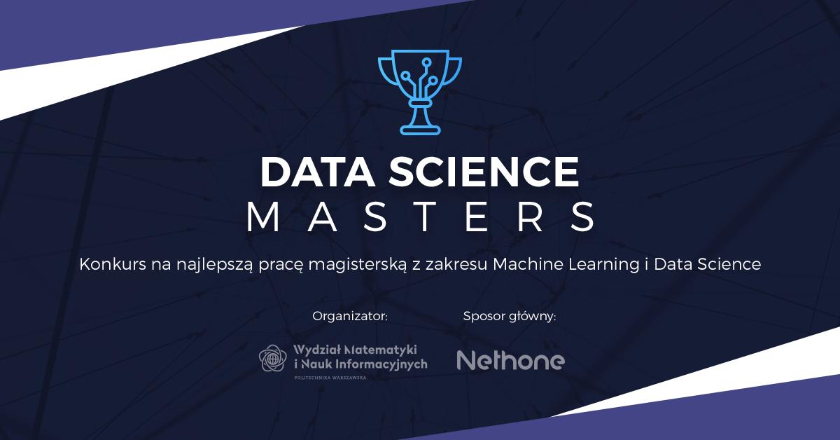 Data Science Masters - konkurs na najlepszą pracę magisterską